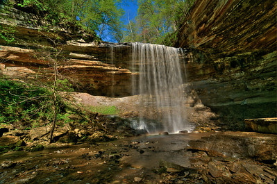 The Park namesake: Clifty Falls