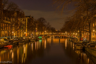 Amsterdam Canal Lights